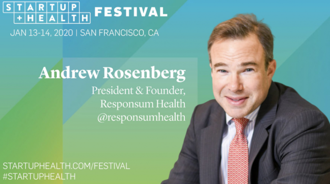 Responsum Health At StartUp Health Festival 2020