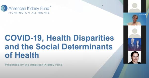 Congresswomen and Health Professionals Explore Health Disparities in the Age of COVID-19