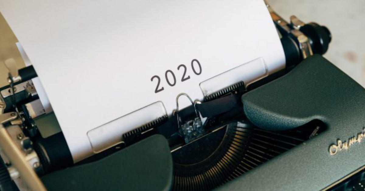 2020: Thoughts on a Trying Year