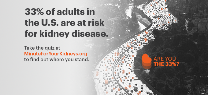 Ad For National Kidney Month 2021