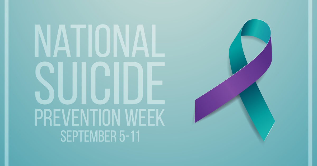 Get Involved and Show Your Support during National Suicide Prevention Week 2021